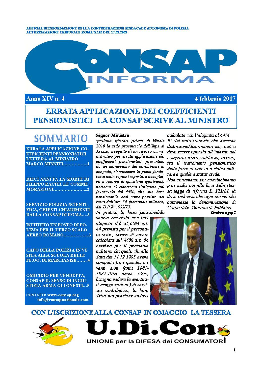 Consap Informa